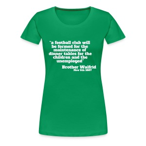 Brother Walfrid - Women's Premium T-Shirt