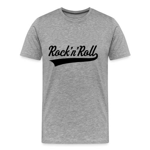 Rock & Roll - Mannen Premium T-shirt
