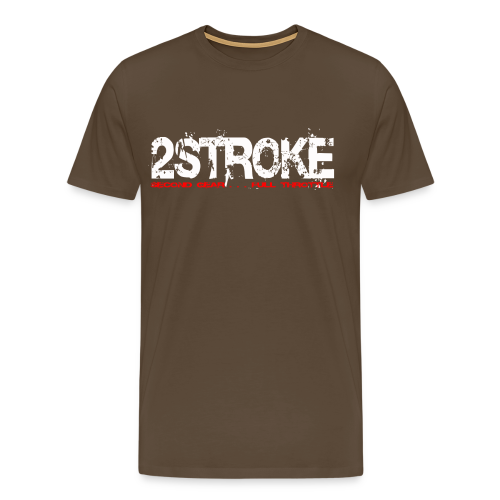 2 Strocke # Monsters of Motocross - Männer Premium T-Shirt
