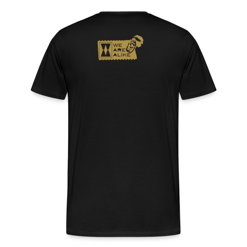 The Shirt Facebook - Customized 4 Edgarito (Collectors Item) - Mannen Premium T-shirt