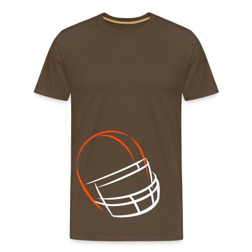 Helmet Flashes - Männer Premium T-Shirt