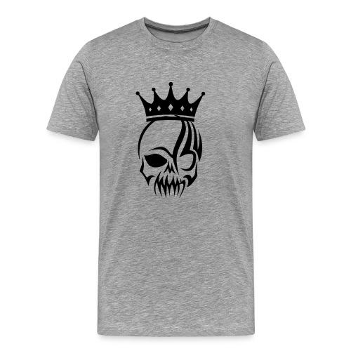 Royal Skull T-Shirt - Men's Premium T-Shirt