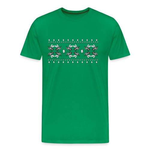 Bee pattern - Men's Premium T-Shirt