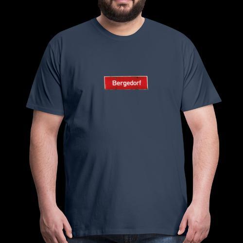 Mein Hamburg, mein Bergedorf, mein Kiezshirt - Männer Premium T-Shirt