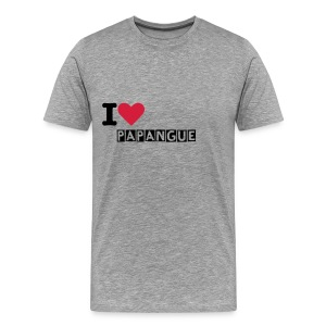 I luv papangue - T-shirt Premium Homme