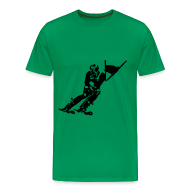 Tee shirts ~ T-shirt Premium Homme ~ Skieur de descente