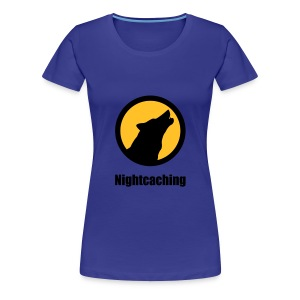 Nightcaching Wolf Emblem - Frauen Premium T-Shirt