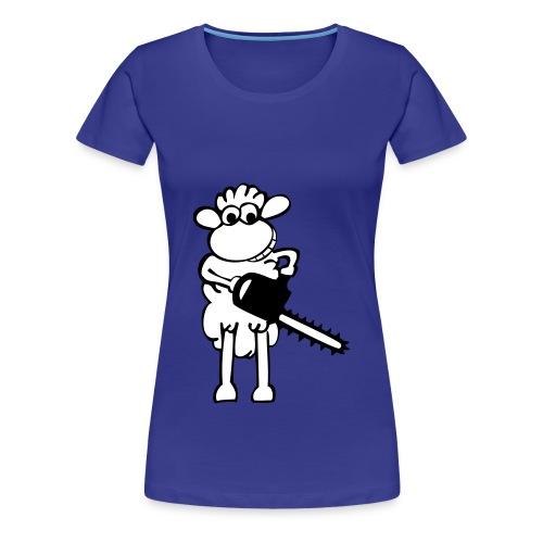 Tee-Shirt Femme - Mouton - T-shirt Premium Femme