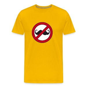 No mustache, no hipsters - Men's Premium T-Shirt