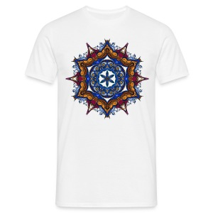 ParadiseSnails_Mandala_05.png - Männer T-Shirt