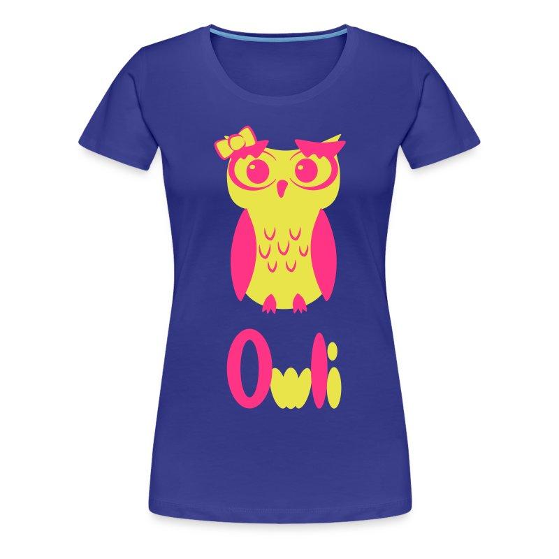Miss Owli - Frauen Premium T-Shirt