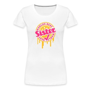 World best Sister - Frauen Premium T-Shirt