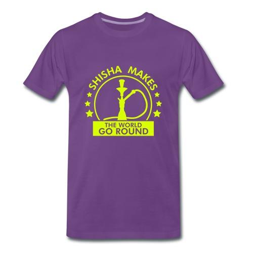 Shisha Makes The World Go Round - Men's Premium T-Shirt