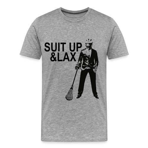 Suit Up and Lax - Männer Premium T-Shirt