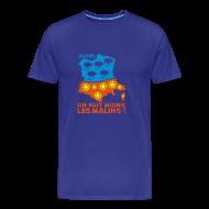 Tee shirts ~ T-shirt Premium Homme ~ VRAI il fait toujours beau en Bretagne...H