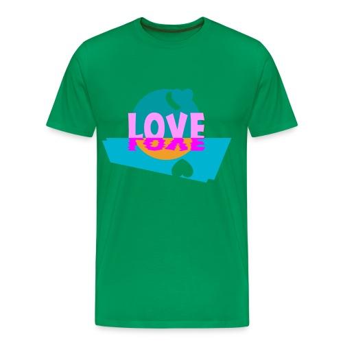 Shirt Love Sex and Peace (Retro Style) - Männer Premium T-Shirt