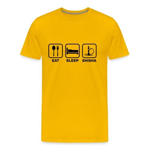 Eat, sleep, shisha - Men's Premium T-Shirt