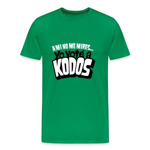 Los Simpson: Yo voté a Kodos - Camiseta premium hombre