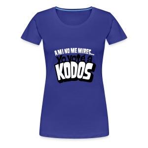 Los Simpson: Yo voté a Kodos - Camiseta premium mujer