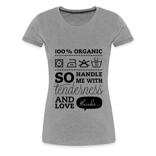 Vælg selv farve - Dame premium T-shirt