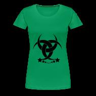 T-Shirts ~ Frauen Premium T-Shirt ~ Green Lady