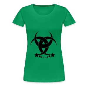 Green Lady - Frauen Premium T-Shirt