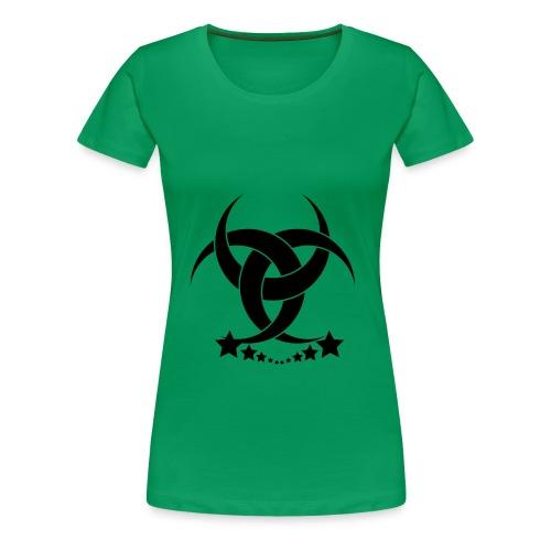 Green Lady - Frauen Premium T-Shirt