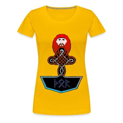Frauen Shirt Thor - Frauen Premium T-Shirt