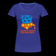 Tee shirts ~ T-shirt Premium Femme ~ VRAI il fait toujours beau en Bretagne...