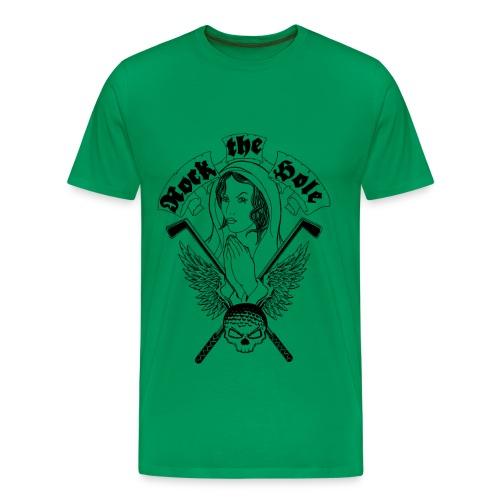 Rock the Hole Madonna - Männer Premium T-Shirt
