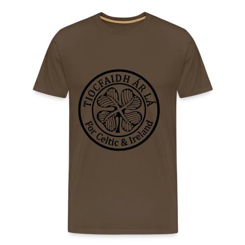Tiocfaidh Ár Lá  Crest - Men's Premium T-Shirt