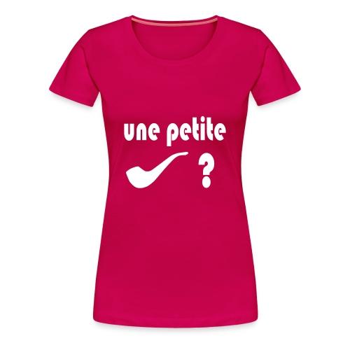 Tee-Shirt - Homme -Pipe - T-shirt Premium Femme