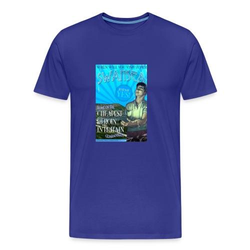 Taff Tourism: Swansea - Men's Premium T-Shirt