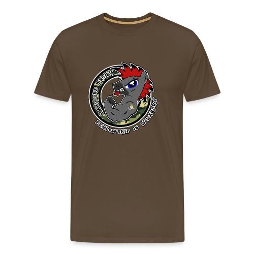 Hardcore Brony - Herre premium T-shirt