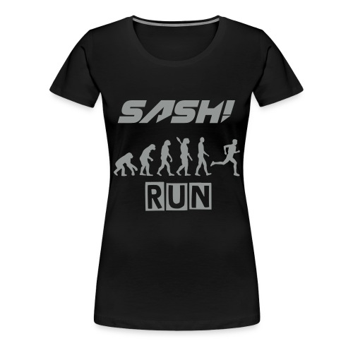 SASH! - RUN  (NEW) - Women's Premium T-Shirt
