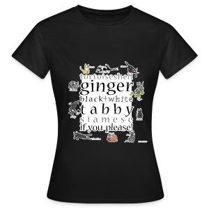 Kittie Allsorts (brown) - Women's T-Shirt
