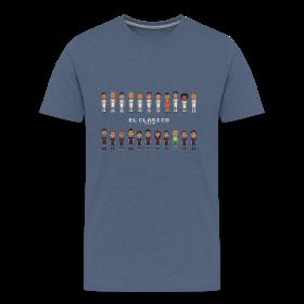 Classic Men T-Shirt El Clasico 2013 Real Madrid ~ 1850