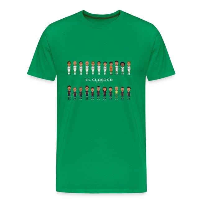 9e3cd67dd31 Classic Men T-Shirt El Clasico 2013 Real Madrid