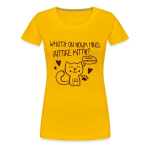 What's on your mind, little kitty? Magliette - Maglietta Premium da donna