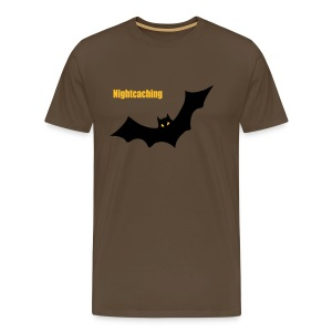 Nightcaching Fledermaus - Männer Premium T-Shirt