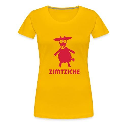 Zimtzicke - Frauen Premium T-Shirt