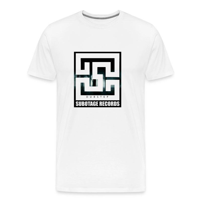 Subotage Records WOOD - Männer Premium T-Shirt