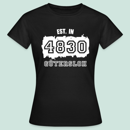 Established in 4830 Gütersloh - Frauen T-Shirt