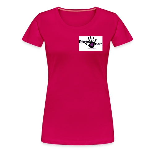 Dame shirt lille logo bryst - Dame premium T-shirt