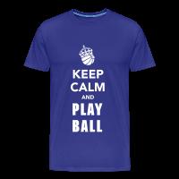 Tee shirt Premium Homme avec motif Keep Calm and Play Basketball