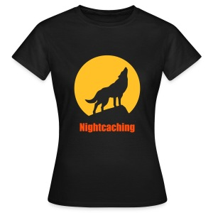 Nightcaching Wolf - Frauen T-Shirt