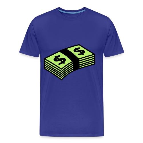 Cash - Mannen Premium T-shirt