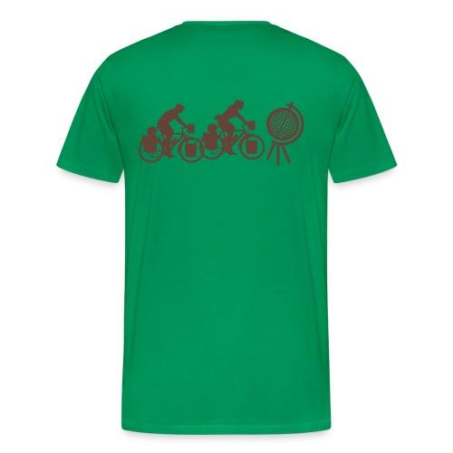 Radreisendes Paar T-Shirt - Männer Premium T-Shirt