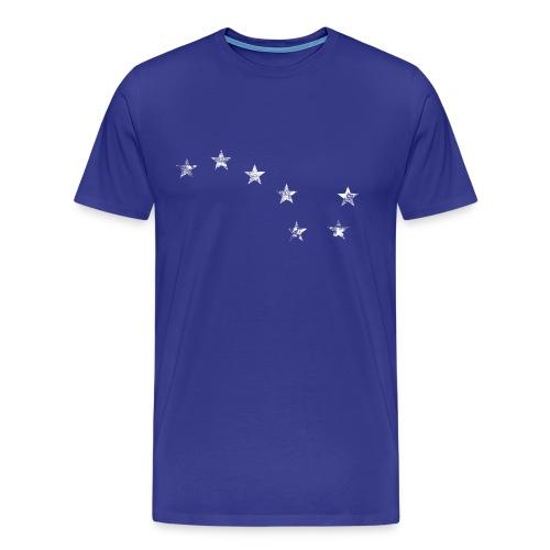 Starry Plough White - Men's Premium T-Shirt