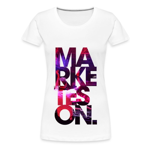 LTD Edition Slim Fit Tourwear - Kiev '11 - Women's Premium T-Shirt